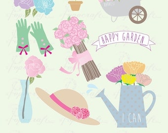 Wedding clipart. Romantic marriage clipart include wedding