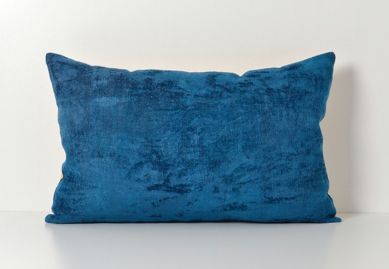 Blue Ikat Pillow Cover Ikat Pillows Decorative Pillow Lumbar