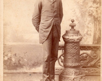 Antique Photo of Cute Young Fellow