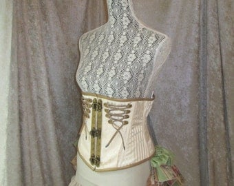 Natural Steampunk Bloomers - Ladies Ruffle Bottoms/Shorts - ONLY AVAILABLE UNTIL 2/21