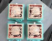 BUNDLE OF 4 Bridal Party Personalized Cut-out boxes