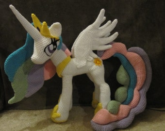 Princess Celestia Pattern - My Little Pony