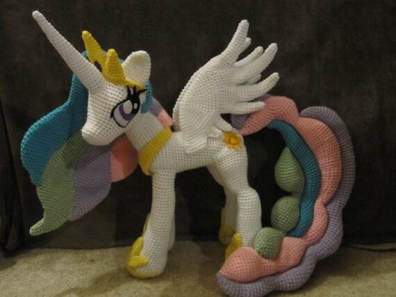 My Little Pony Amigurumi Pattern Free : Princess Celestia Pattern My Little Pony
