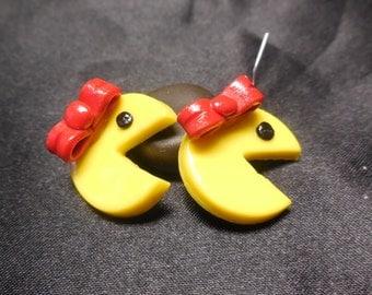 Ms. PacMan inspired Earrings
