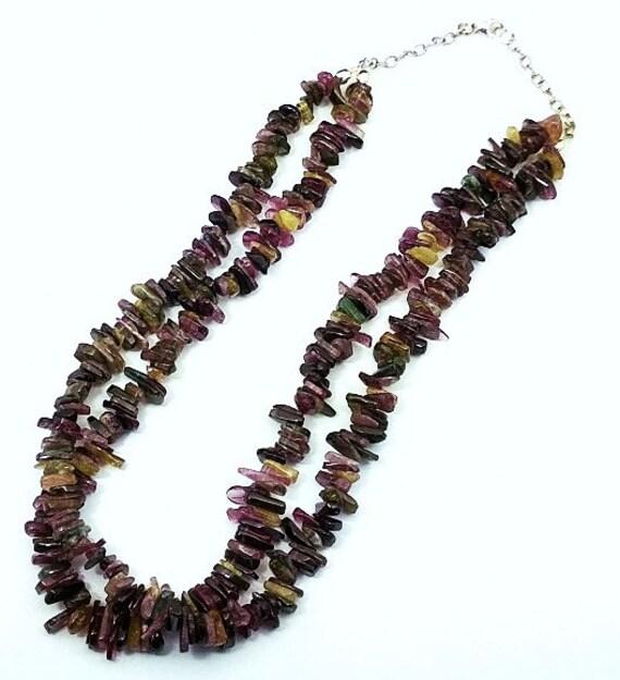Double-Strand Tourmaline Necklace