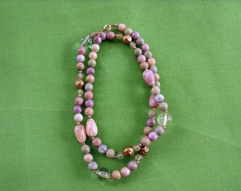 Vintage Bead Necklace (Item 713)