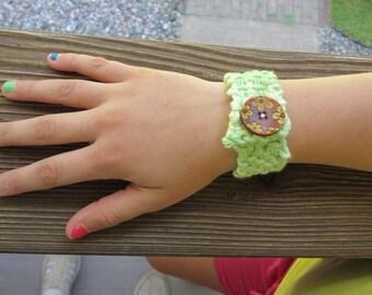 Knitlets- Handmade Knit Cuff Bracelets for kids