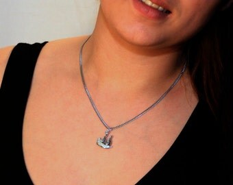 Galleon Ship Necklace by Hoardersworld, Handmade in Fine English Pewter, Gift Boxed, R1