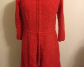 Wool 1960s Dress
