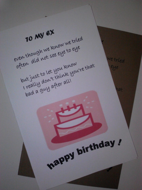 Birthday Present Ideas For Ex Boyfriend Image Inspiration of Cake