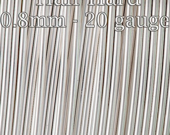 Silver filled wire, wholesale Half Hard round 20ga 0.8mm, 5 15 25 FT, 20%discount price, 1/10 Fine Silver filled wire tarnish resistant