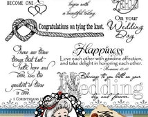 Wedding 1 Word Art, Sentiments, Photography Overlay, Digital Stamp, Scrapbook, Instant Download  ID:NV-WA0039 By Nana Vic