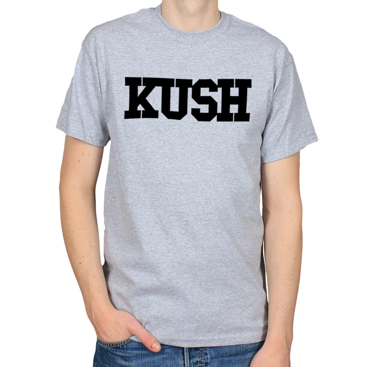 Kush Logo T Shirt Cannabis Shirt Marijuana Weed Shirt