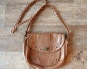 Brown Tan Vintage Bag