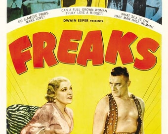 Freaks Movie Poster Digital Print Various Sizes
