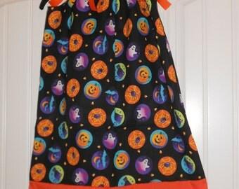Girls Halloween Pillowcase Dress