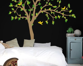 Baby Nursery Wall Decals - Large Tree Wall Decal - Tree Wall Decals  K012