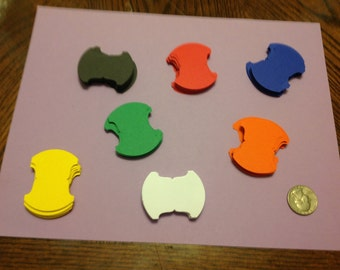 200 Stampin up tab punch, or 125 neon color