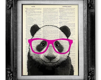 Panda bear etsy for Panda bear decor