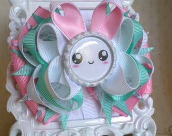 Bunny Stacked Boutique Hair Bow