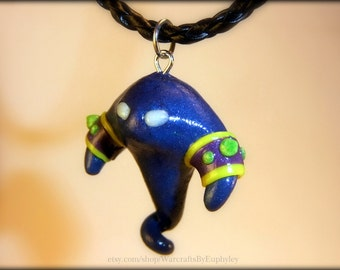 Voidwalker Minion Necklace w/ Glow in the Dark Eyes