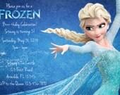 Frozen Invitation - Digital File