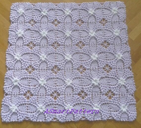 Crochet Stitches Tutorial Pdf : ... Baby Blanket-Easy tutorial Crochet Pattern-#6,PDF file,ASmartPattern