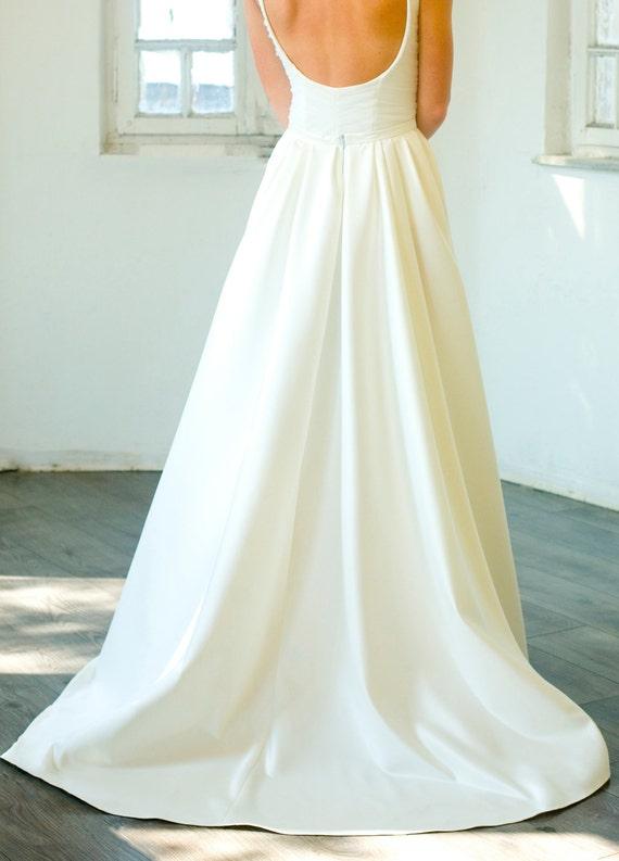 custom made maxi podanch wedding skirt new ivory white