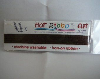 Hot Ribbon by Junko : iron on ribbon!