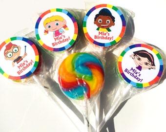 Little Einsteins Personalized Mini Lollipops - Set of 10