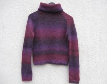 Purple sweater | Etsy
