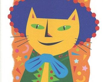 Caballero Cat Card
