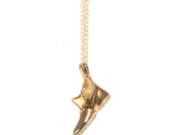 Necklace Pendant 'Golden' Shoe Monopoly