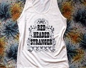 Red Headed Stranger-Willie Nelson Tank