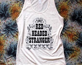 Red Headed Stranger-Willie Nelson Tank