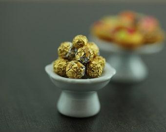 Luxury Chocolate Treats - 1/12 Dollhouse Miniature Dessert