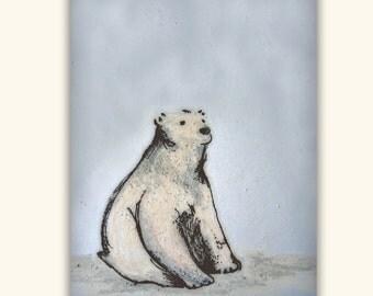 Polar Bear - card set of 8