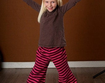 Flare Pant plus FREE Legging Instant Download Sewing Pattern, ages 7-12