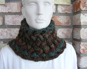 Fall Cabled Cowl/Neckwarmer
