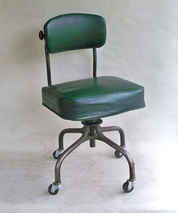 1950s steelcase task chair steno chair office chair