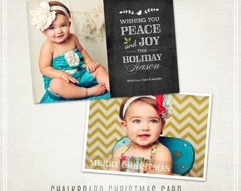 Chalkboard Christmas Card - WHCC & Millers Lab 5x7