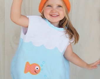 Fishbowl Costume - Goldfish Toddlers