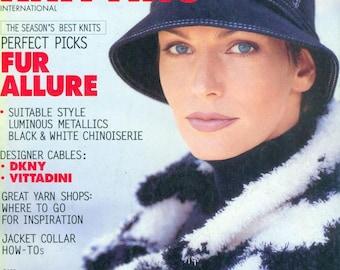 VOGUE KNITTING INTERNATIONAL Winter 1995/ 1996