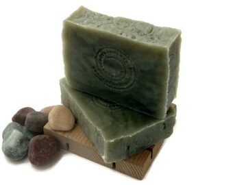 Surf and Sand Soap - Handmade Hot Process Soap - Delicate by Nature