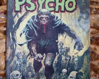 Psycho No 11 Skywald Comic Book 1973 The Heap Voodoo Bones Obscura Oddities Sci Fi Horror