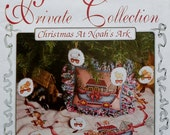 Alma Lynne's Private Collection CHRISTMAS At NOAH'S ARK - Counted Cross Stitch Pattern Chart