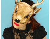 DEER Mask by Carousel Ink - Victorian Paper MASK