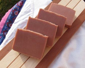 Ginger & Papaya Speakeasy Soap, vegan, handmade
