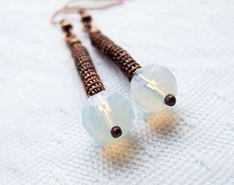 jewelry tutorial - easy wire wrapped earrings tutorial for beginners - wire wrappping tutorial - tutorial 15