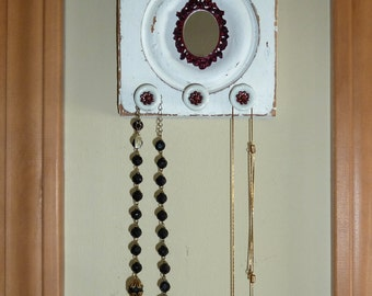 Jewelry Hanger Architectural Salvage Wall Art Shabby Chic Display